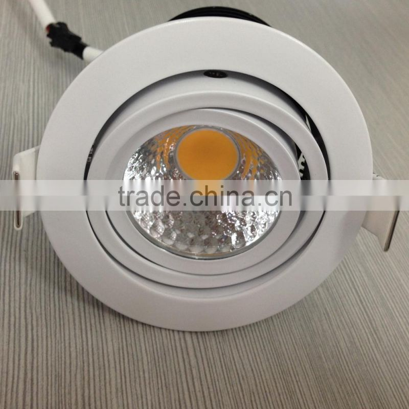20W cool white PWM dimmable commercial led downlights