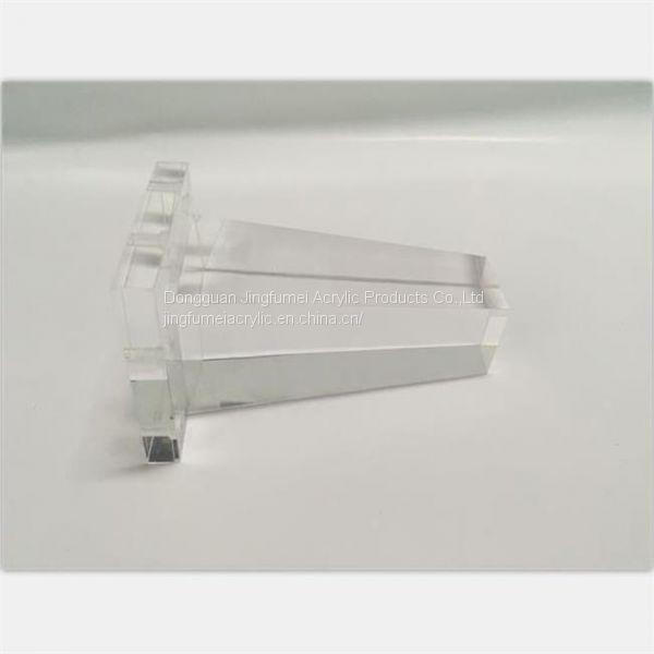 Modern Furniture Parts Plexiglass Furniture Legs Cone Shape Legs ...