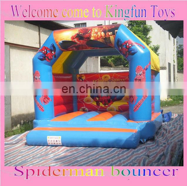 Santa Claus inflatable Christmas bouncer