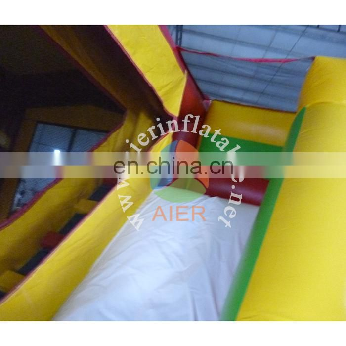 Top quality PVC inflatable castle house /big dog jumping bouncy castle kids toys castle with slide