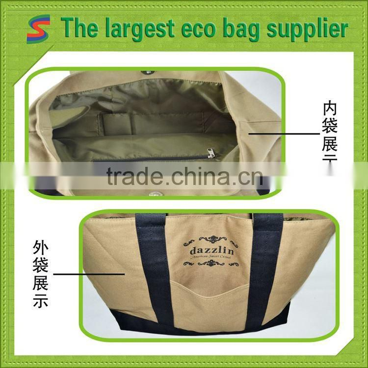 Shoulder Bag Canvas Ecological Cotton Canvas Bags