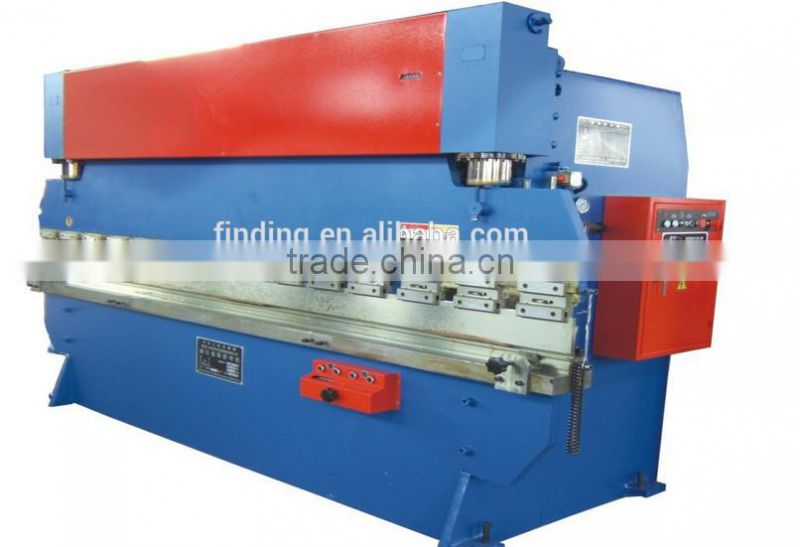 sheet metal cutting and bending machine press brake machine,high quality plates machine,hydraulic press brake