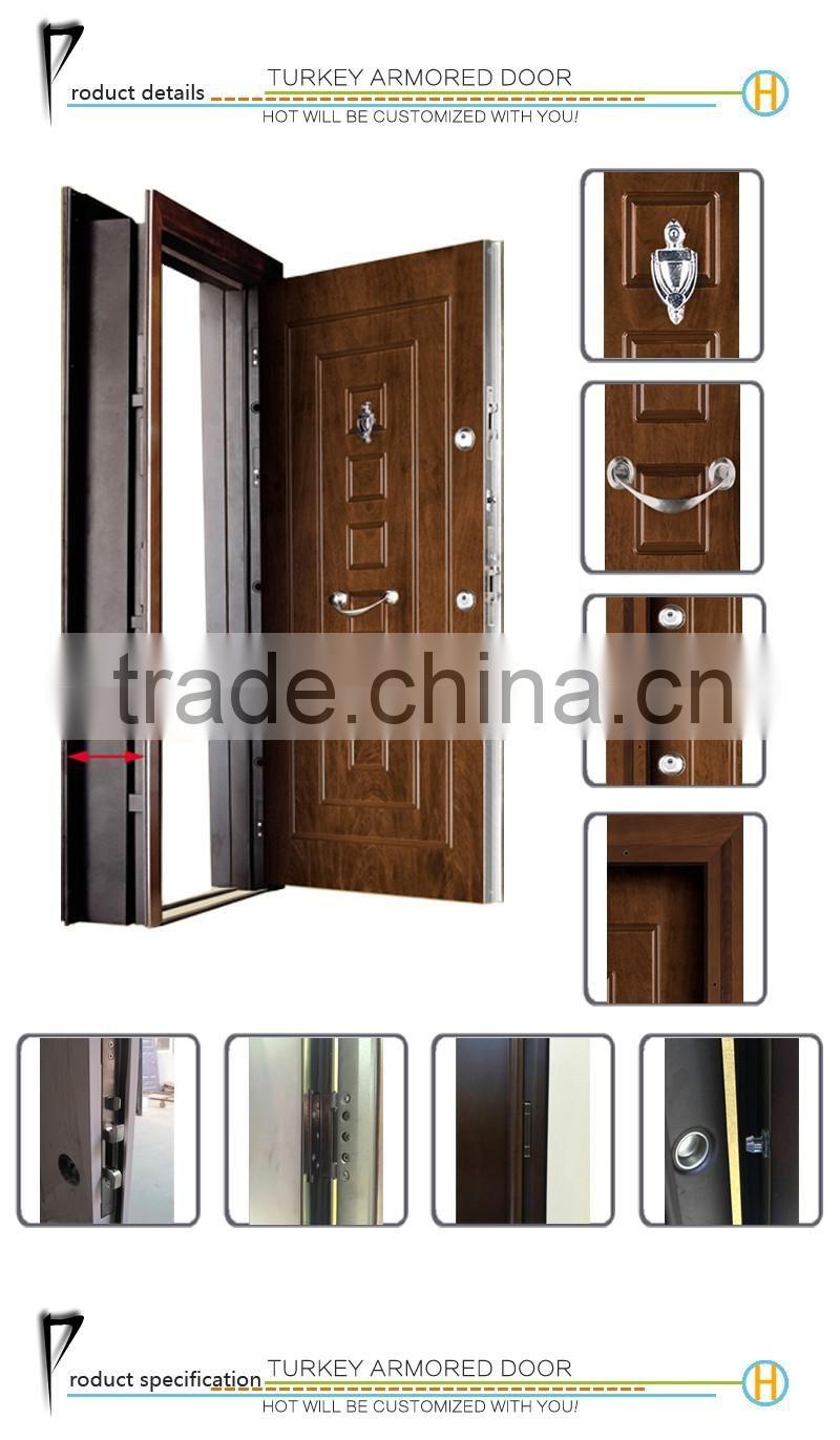 OEM Available Interior Security Door Steel Door China Cheap Price Steel  Metal Iron Door ...