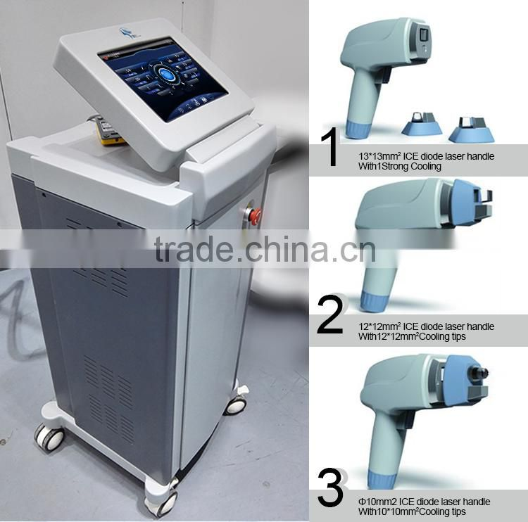 permanent hair removal vertical diode laser machine depilacion maquina