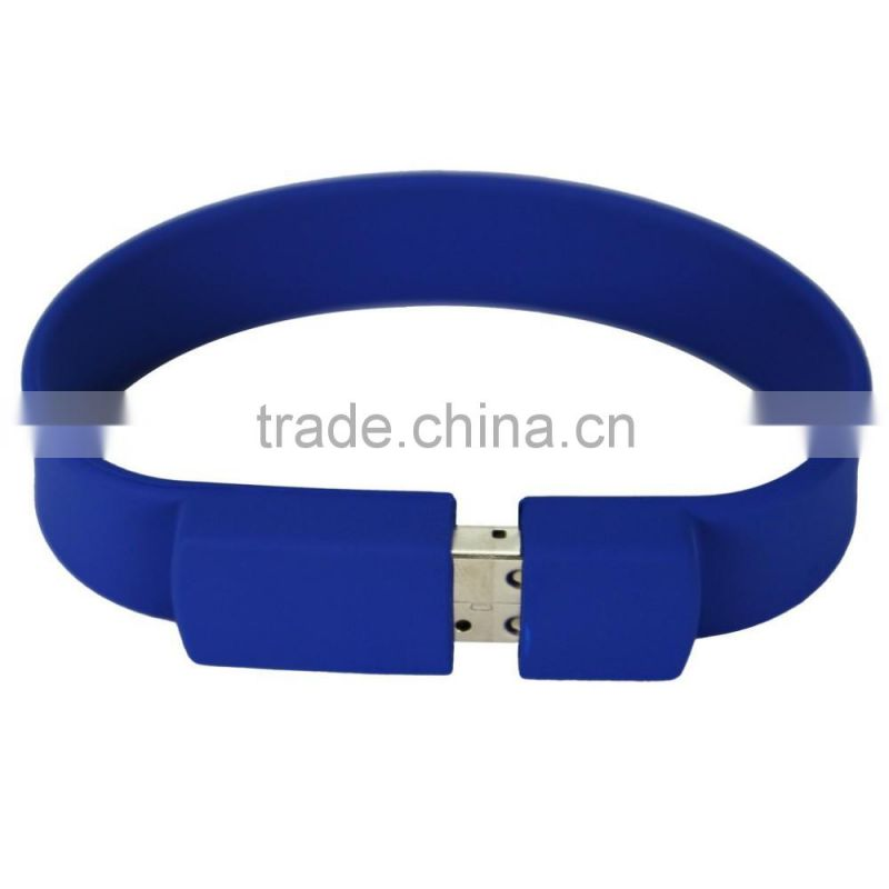 2017 Hot Sale 1GB/2GB/4GB/8GB/16GB/32GB Silicone USB Bracelet,USB Flash Dive With Your Logo,USB 2.0 Flash Drive Thumb Stick