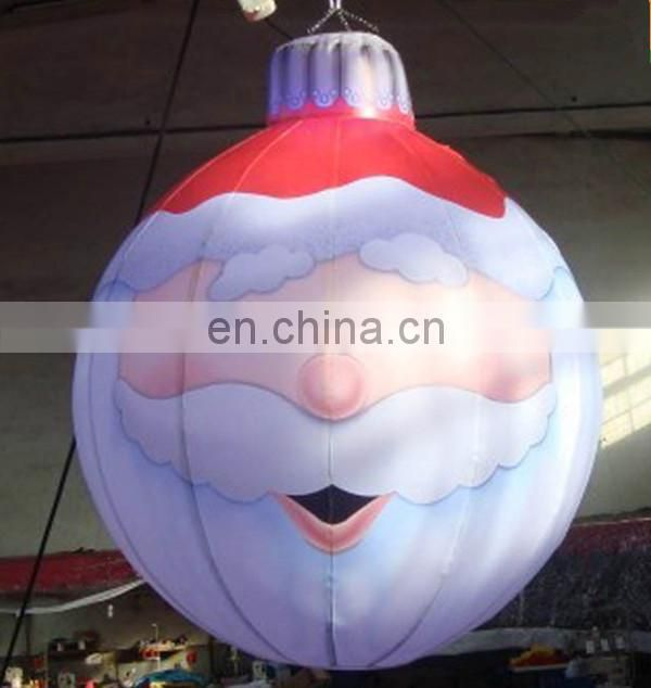 Giant inflatable christmas ball for christmas decoration