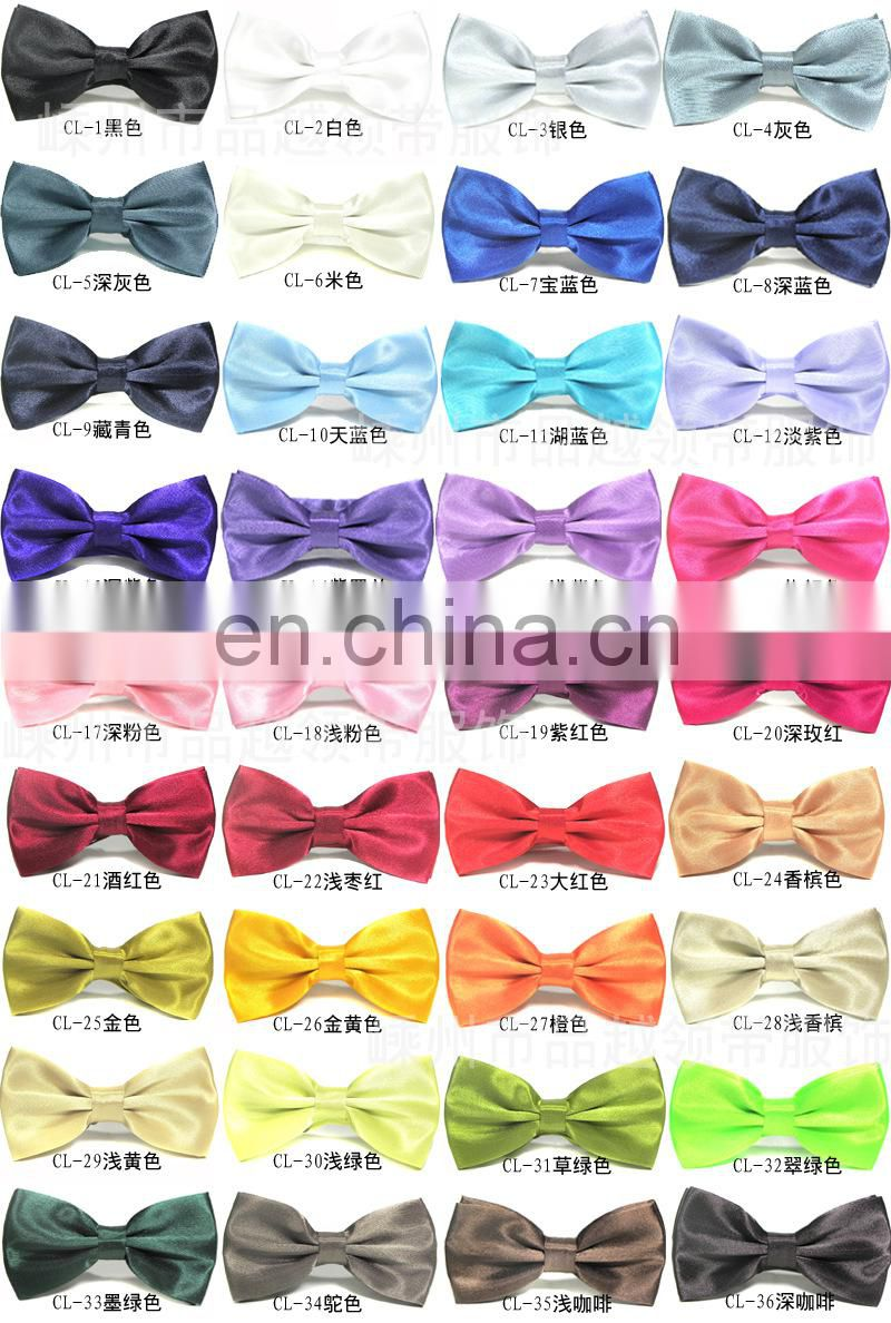 WD-1543 promotional bow tie with custom imprint for sales promotion