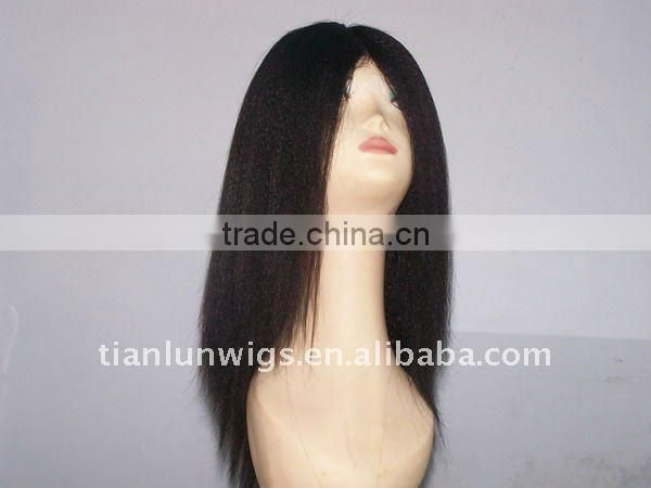 100% Indian human remy hair good quality full lace wigs for women hair custome wigs