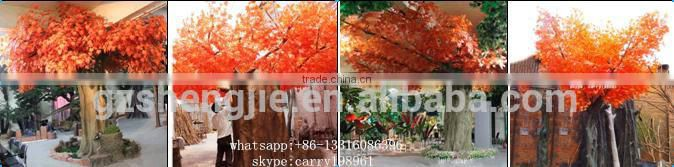 wholesale artificial plants and trees artificial red maple tree lifelike artificial tree