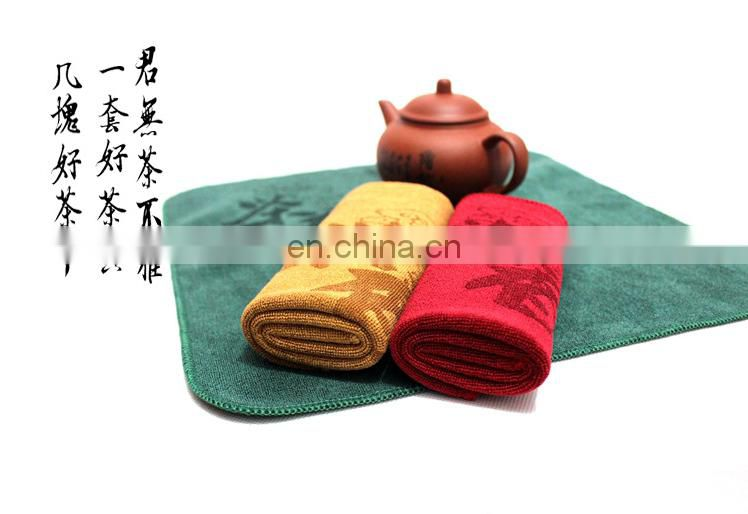 wholesale microfiber towels thicken tea towels small size 30*30cm 40g