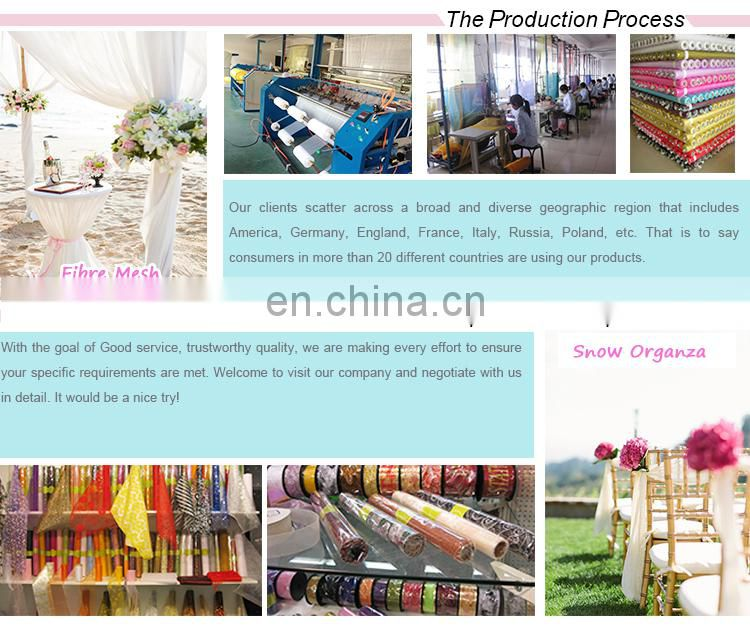 Jacquard design pretty design cheap curtain organza drapes