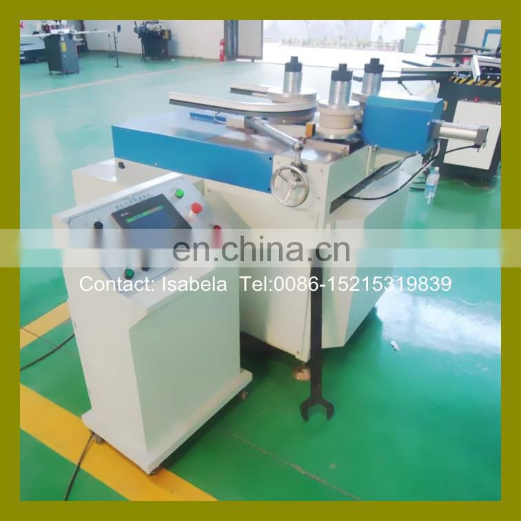 Full automatic CNC bending arc Aluminum window machine