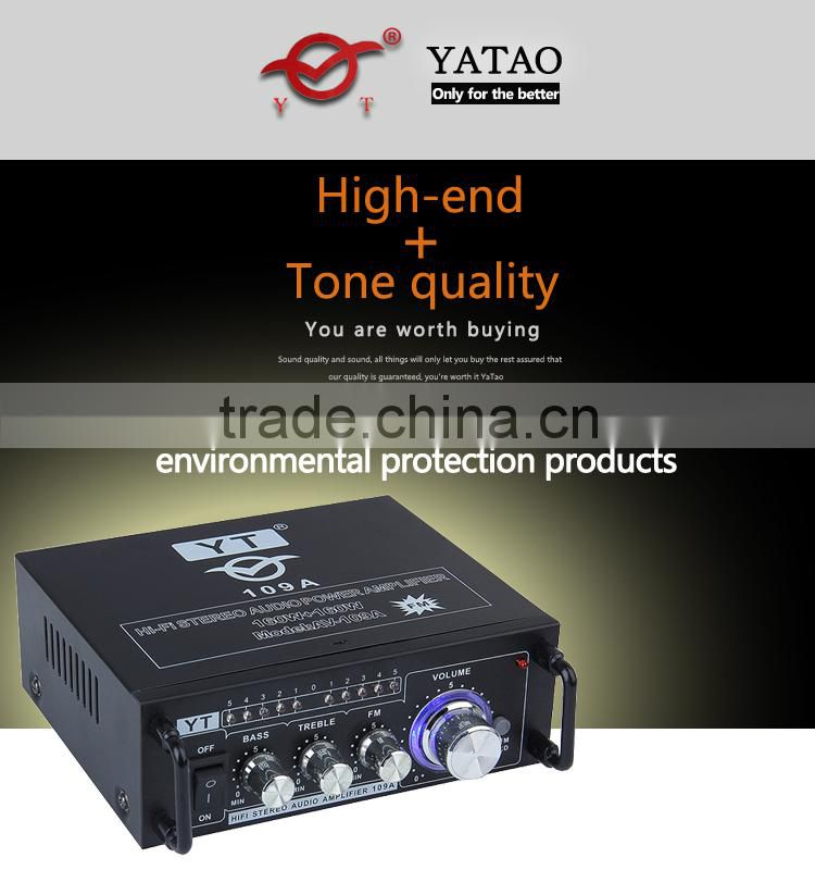 Audio bluetooth ahuja amplifier YT-109A with Soft antenna