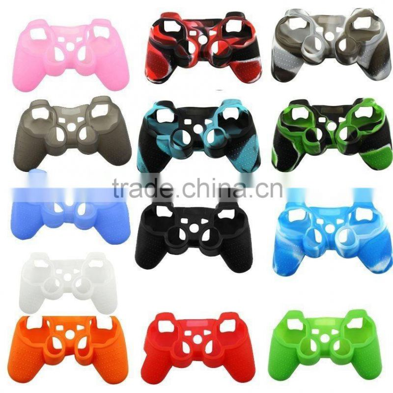 Silicone Case Skin Grip Rubber Cover Protector for Play station 3 for PS3 Controller Silicone Case