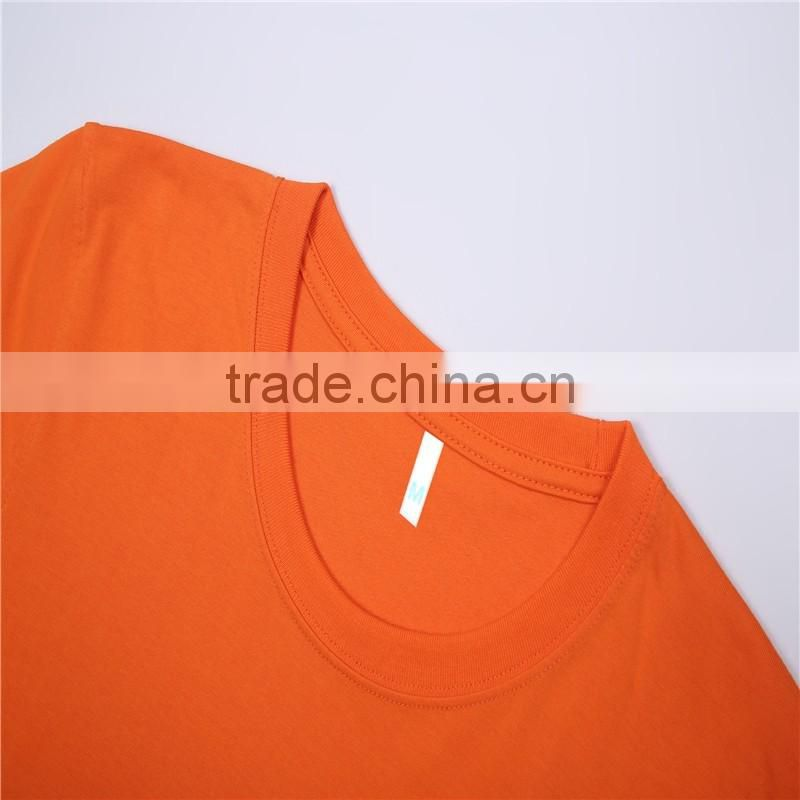 China whoelsale cheap bulk blank t-shirts pure cotton 180gsm