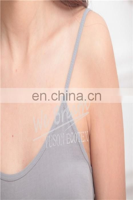Ladies Seamless Bamboo Sleeveless Nightwear CAMI Top