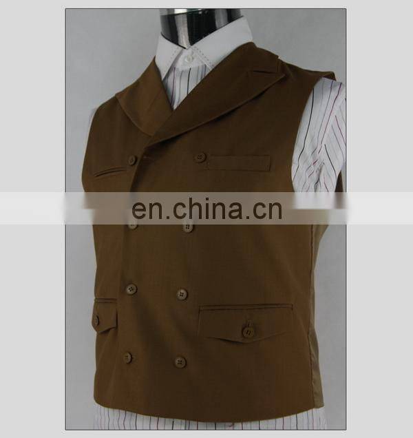 new products unique sleeveless waistcoat for men