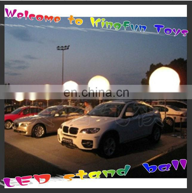 Advertising LED inflatable standing ball outdoor