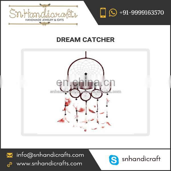 Colourful Design Indian Dream Catcher for Home Decoration
