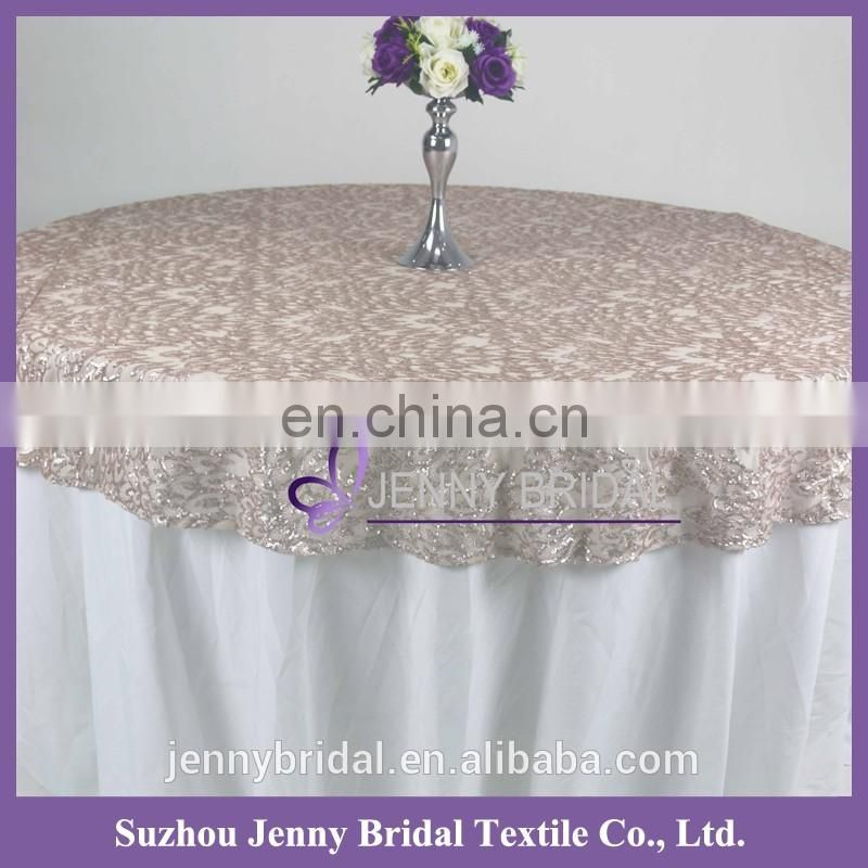 TC140A2 new sequin design pattern office table cover