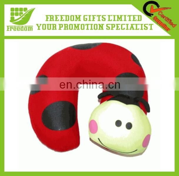 Customized Logo Promotional Micro Beads Travel Neck Pillow
