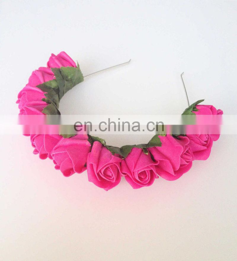 Wedding Garland Floral Crown Headband
