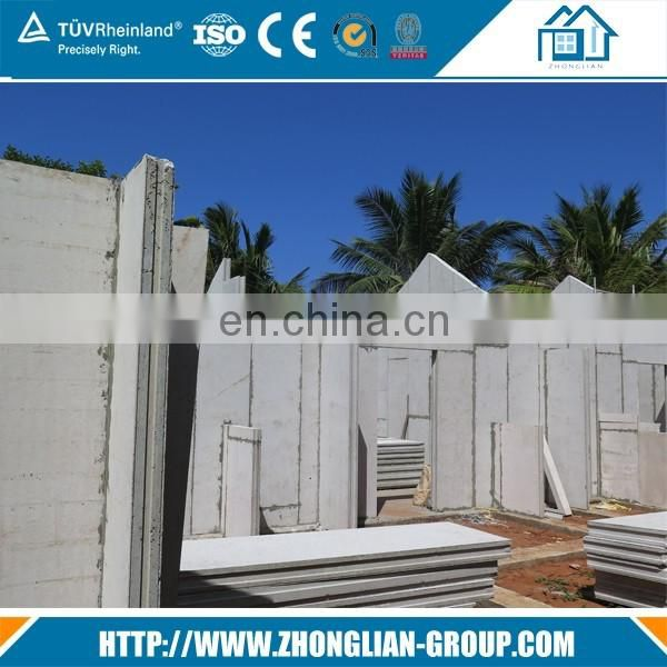 Construction Real Estate Fibre EPS cement sandwich wall panel