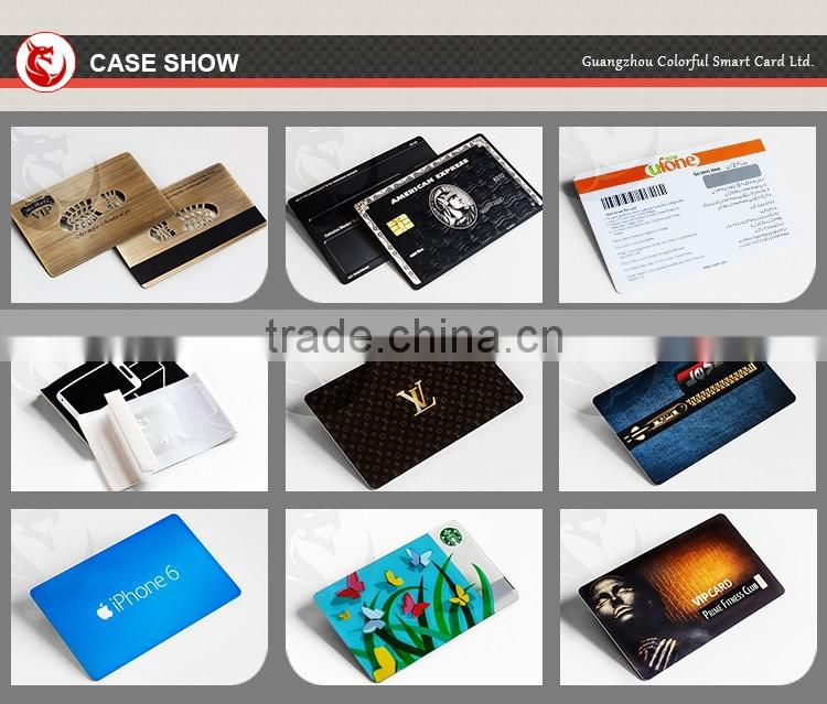China supplier glossy guangzhou pvc card for inkjet