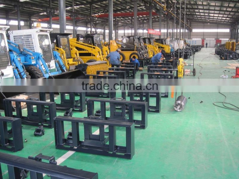 For UK Farm machinery equipment Mini tract skid steer loader with CE approved