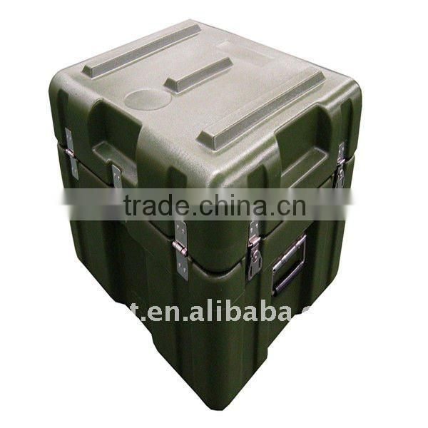 Rotomolded 70L Plastic Water-proof Military Case