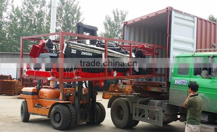 Hot sale ZM Series Log Trailer Crane,Timber Trailer with Crane