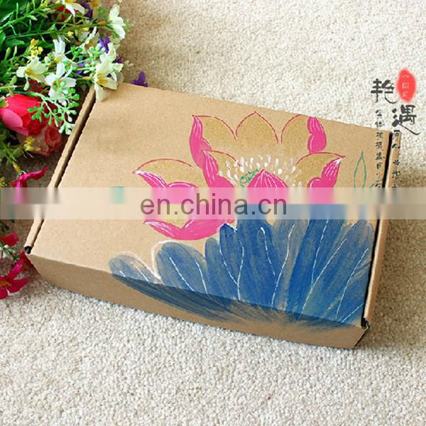 bath bomb paper Corrugated shipping packaging box