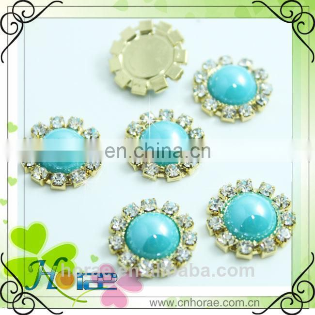 resin rhinestone button,fashion crystal button,rhinestone ornament for shoes
