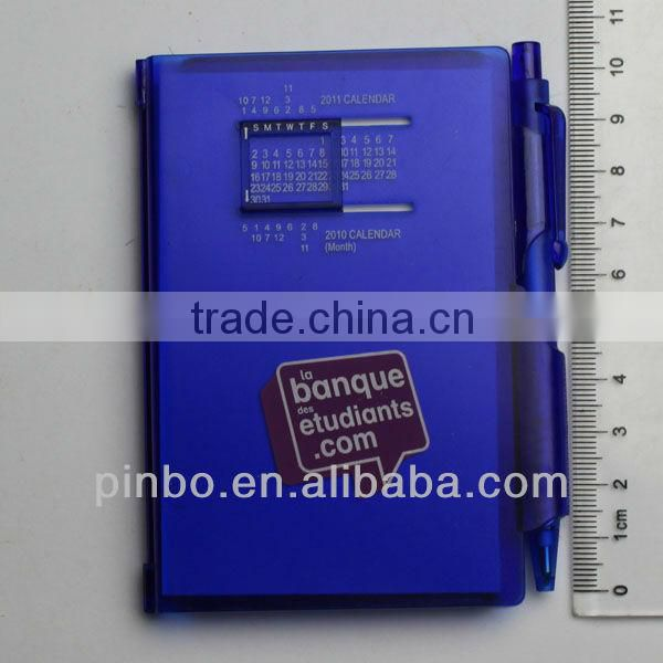 Mini Notebook with Calendar