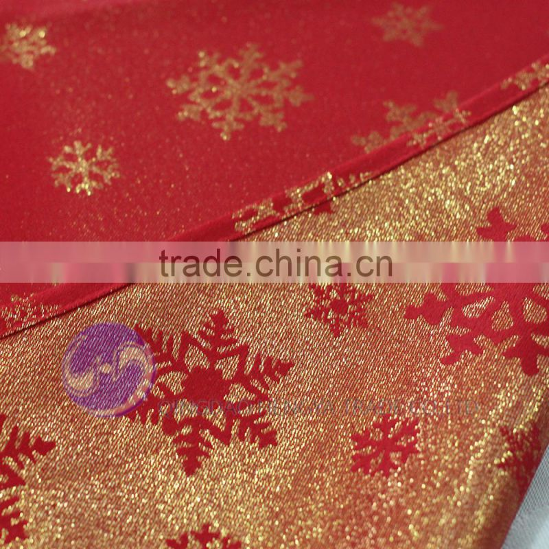 christmas wholesale polyester fabric jacquard square table cloth 84x84