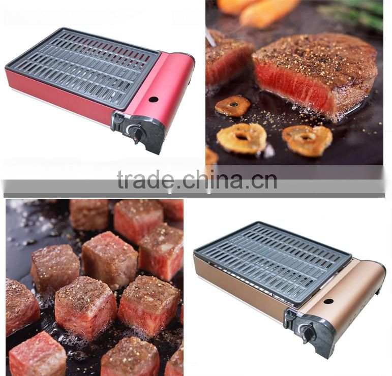 Popular Alluminum-Alloy Outdoor Gas BBQ Grills