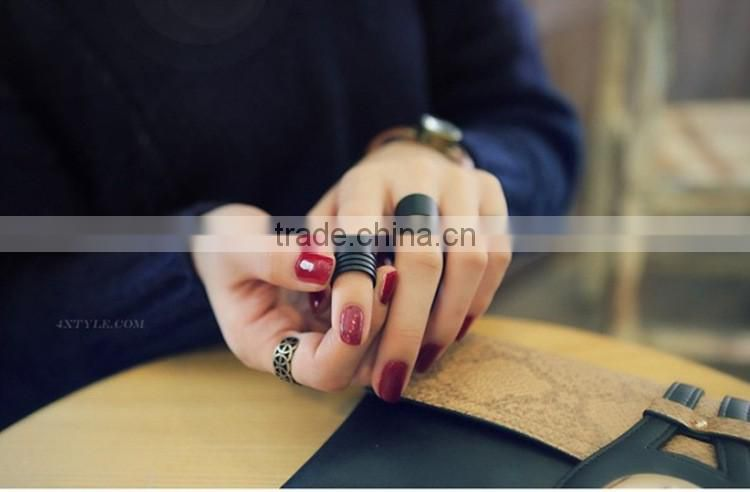 Fashion stainless steel jewelry arthrosis rings