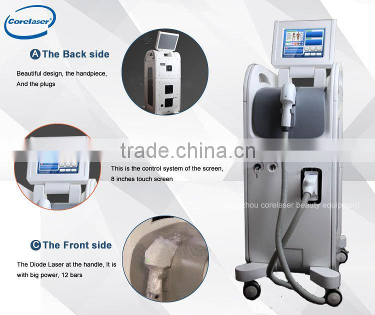 30% off! 808nm diode laser with import laser handle