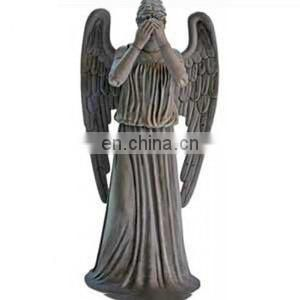great craftsmanship custom made vicious angel statues, fallen angel statues