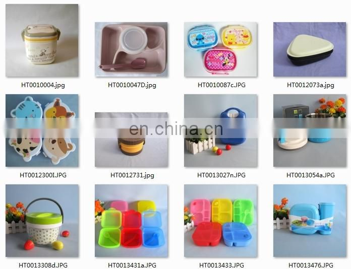 Good quality BPA free plastic square plate 6pcs