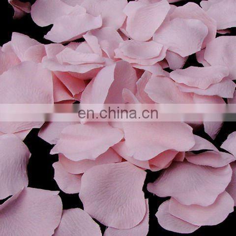 light pink color heart shape flower petals