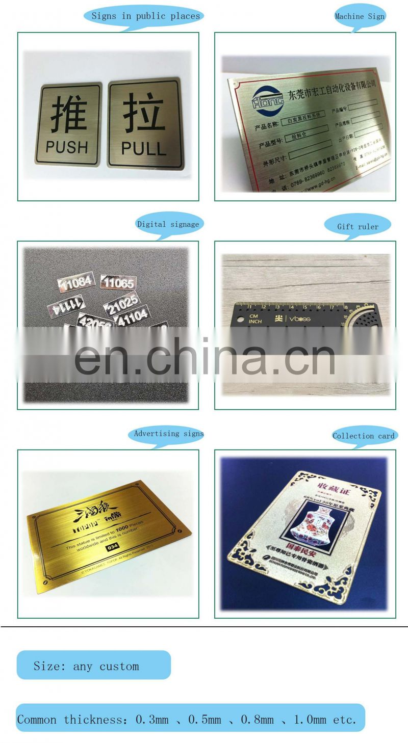 Customized Cheap Stainless Steel Cable Wire Luggage Tag With Loop