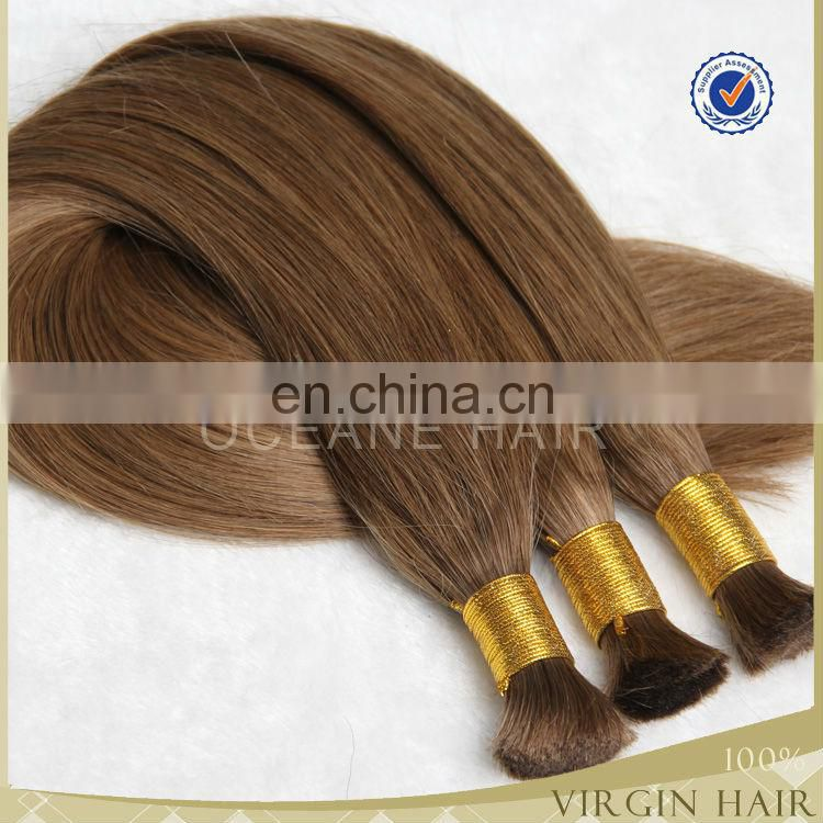 wholesle color hair top grade 7a virgin hair brazilian human bluk hair
