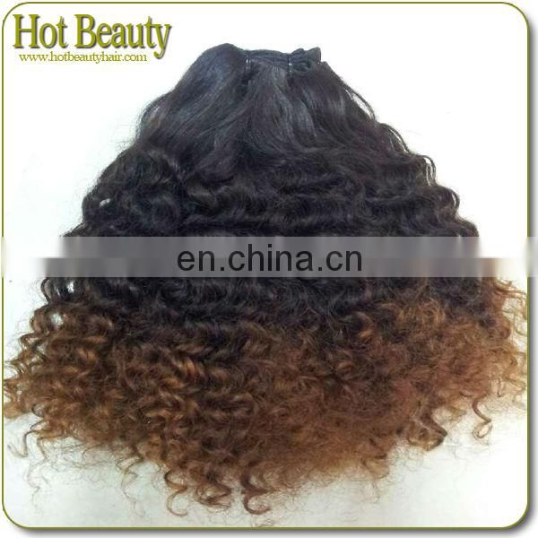Two Tone Hair 100% Human Hair Weave free shipping two color