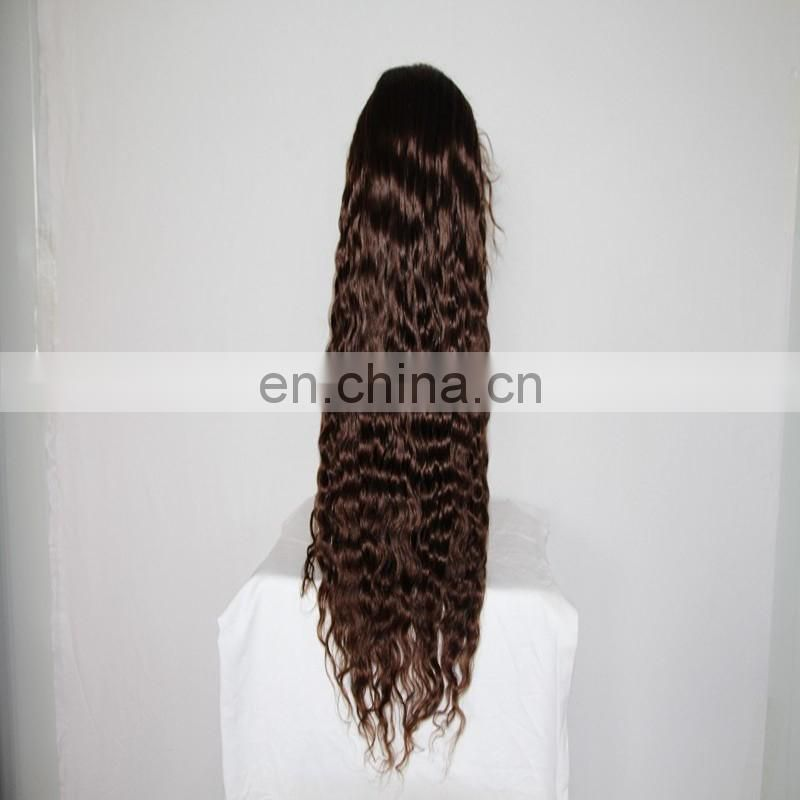 Hot sale water wave full lace human hair wigs remy brazilian hair real human hair full lace wig fast delivery