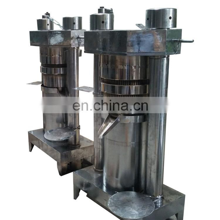 Hydraulic Oil Extraction Cocoa Bean Oil Extract Cocoa Butter Press Machine