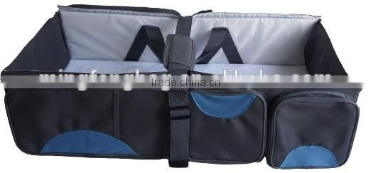 2016 New multifunction mother bag portable folding travel cot Baby Crib