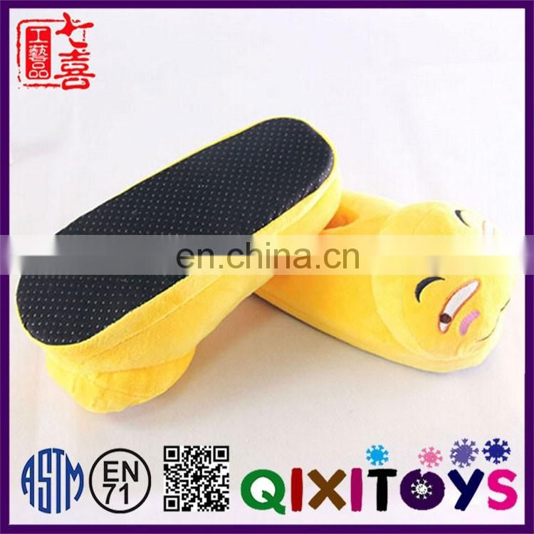 2017 Hot item emoticon slipper shoes creative slipper shoes design professional production emoji shoes