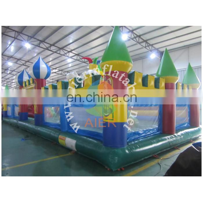 Children inflatable amusement park inflatable playground inflatable fun city