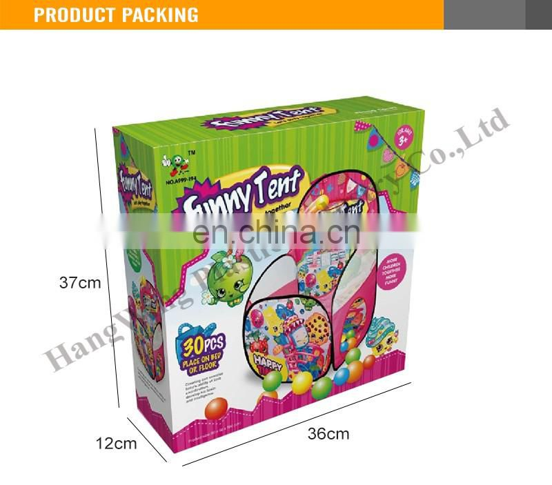 Children Kids Play Tent Children Tent With Balls Plastic Tent